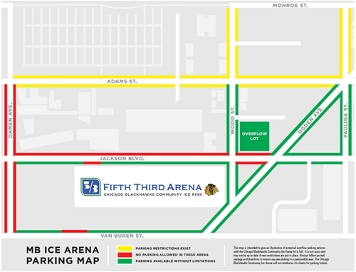 Map to Fifth Third Arena